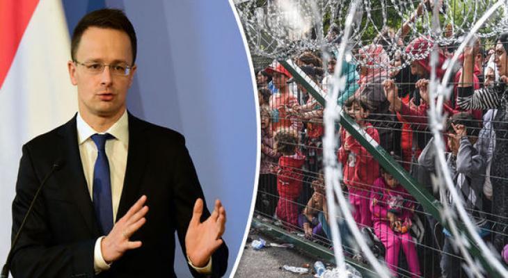 Беженцы в Венгрии и Петер Сийятро