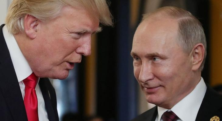 Путин предложил Трампу провести в Донбассе референдум