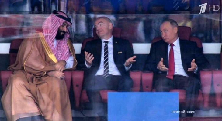 Реакцию Путина на первый гол российской сборной в США назвали бесценной