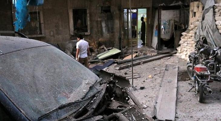 После авиаудара в Сирии