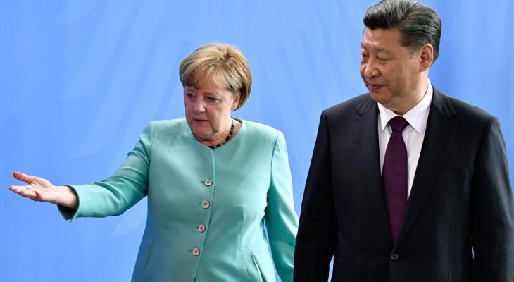 Меркель и Си Цзиньпин