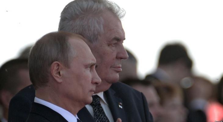 Путин и Земан