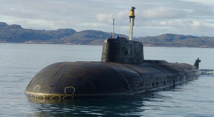 """Подводная лодка """"Антей"""" 949-а (код НАТО Oscar II)"""