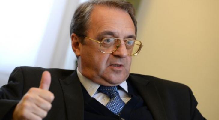 Богданов прокомментировал инициативу о перемирии в Сирии