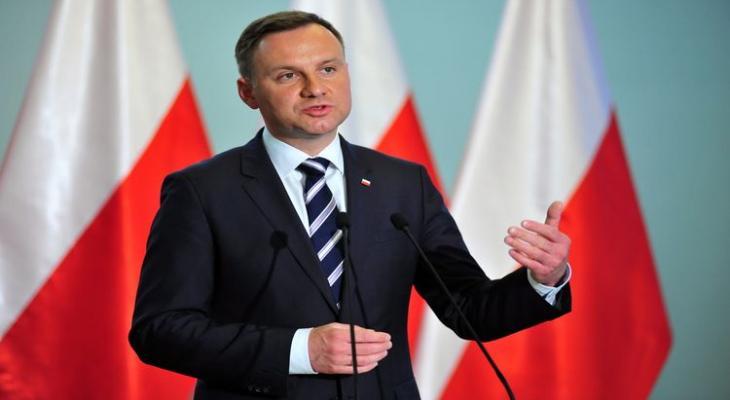 президент Польши проведёт референдум о составе страны в ЕС