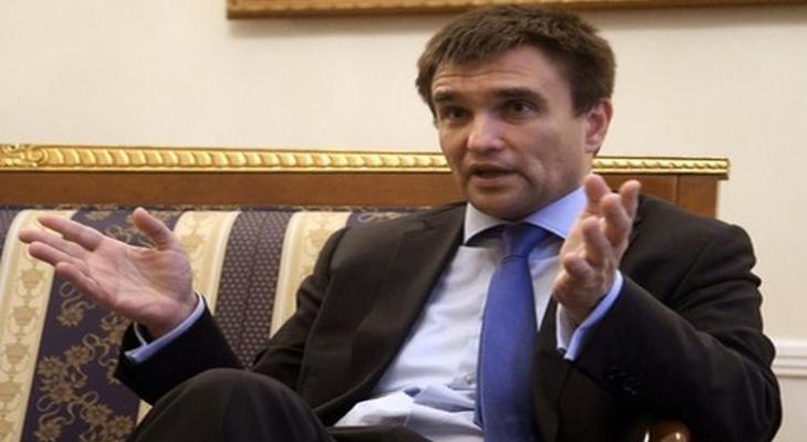 глава МИДа Украины Павел Климкин