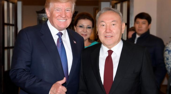 Трамп и Назарбаев