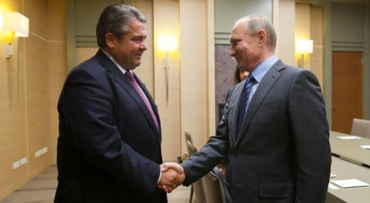 Встреча с Путиным: трудная дилемма министра экономики Германии