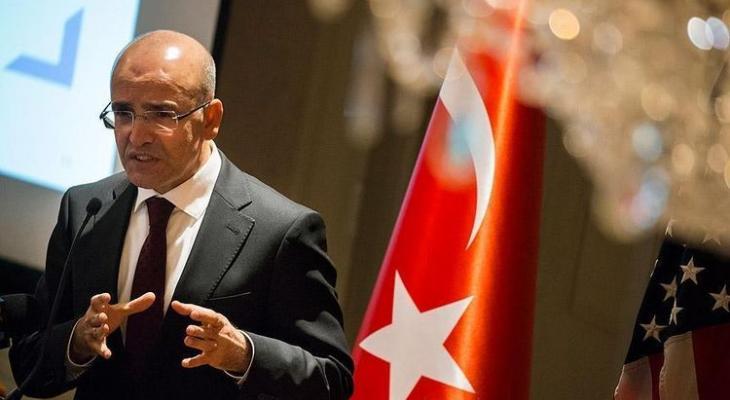 вице-премьер Турции  Мехмет Шимшек
