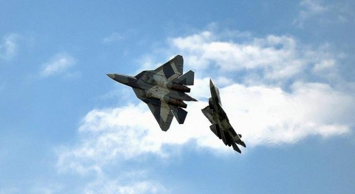 российский истребитель Су-57 в Сирии