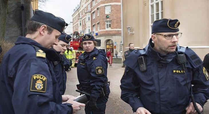 Полицейские Швеции