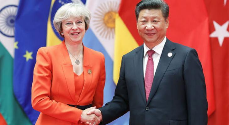 Китай готов взять контроль над газопроводами Великобритании