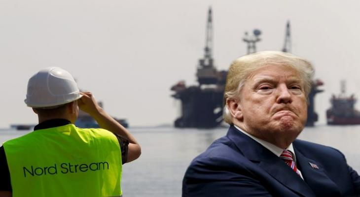 Вашингтон накажет ЕС за Северный поток-2