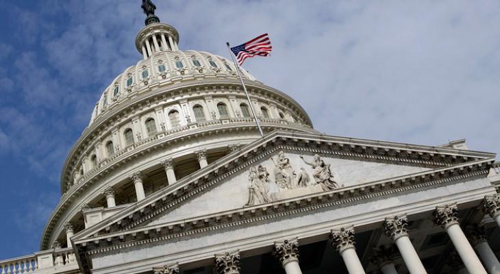 Здания Капитолия в Вашингтоне