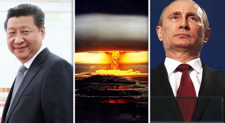 Запад вновь обвиняет Россию и Китай