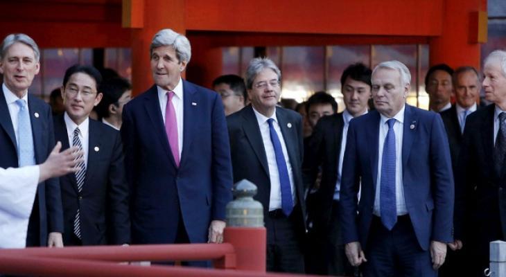 на саммите глав МИД G7