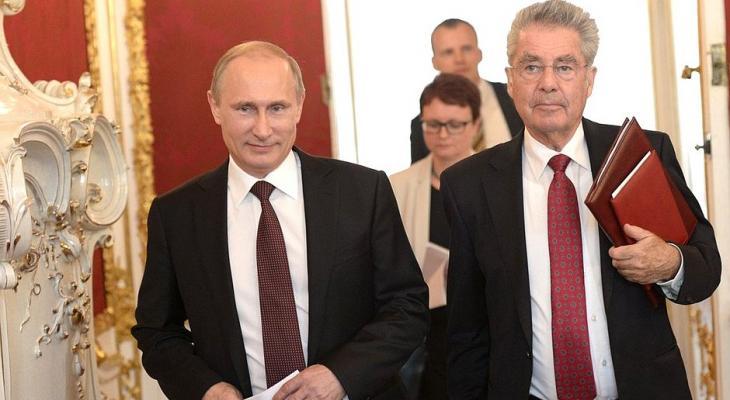 В Кремле прошла встреча президентов России и Австриии