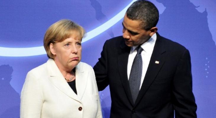 Меркель не устояла под напором Обамы и согласилась на усиление НАТО бундсвером