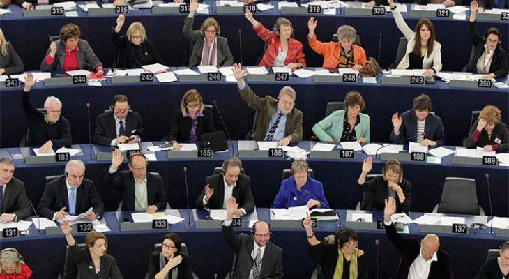 Европарламент принял резолюцию большинством голосов