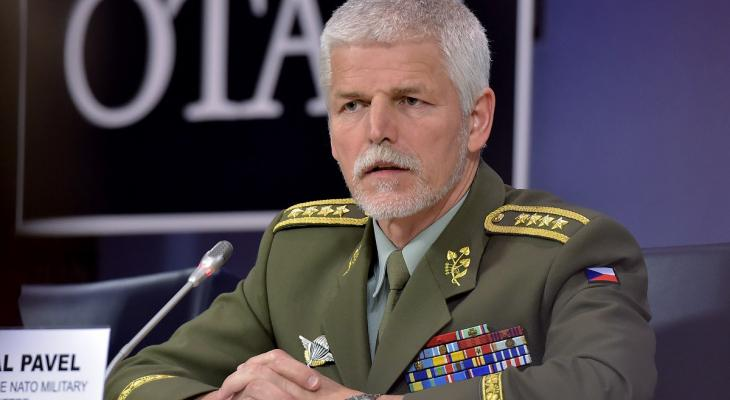 Глава военного комитета НАТО Петр Павел