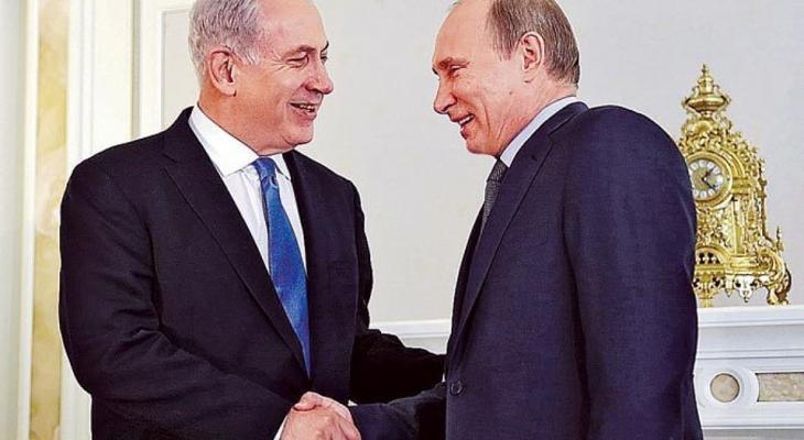 Путин и Нетаньяху в Кремле