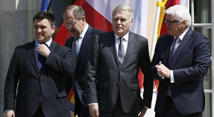 """Встреча в Берлине глав МИД """"нормандской четверки"""""""