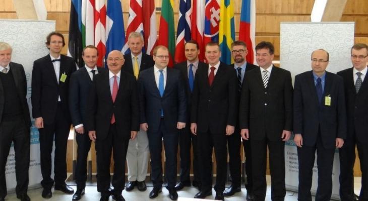 совещание глав МИД 12 стран в Юрмале