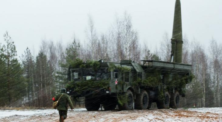 Российский ракетный комплекс «Искандер»