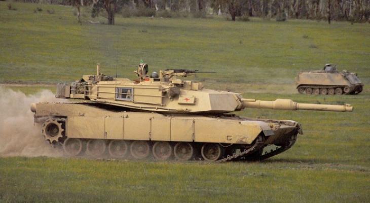 Американский танк M1 Abrams