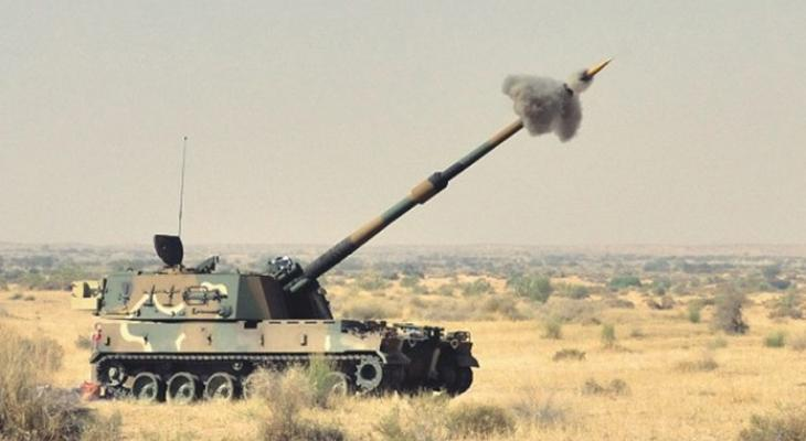 Артиллерийское орудие Южной Кореи К9 Thunder