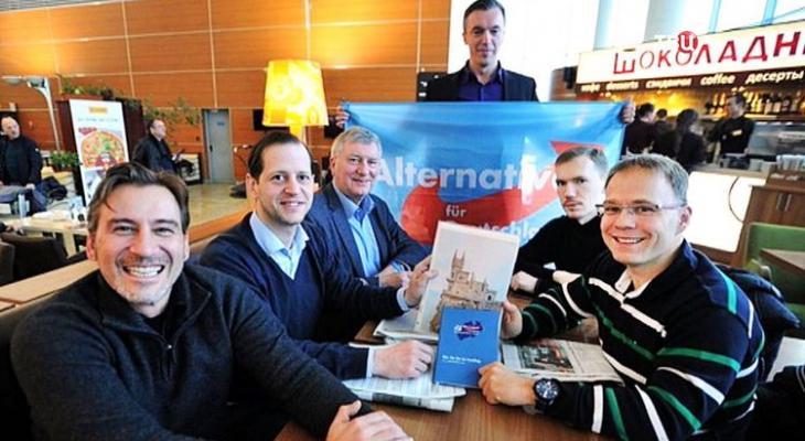 делегация немецких дипломатов в Крыму