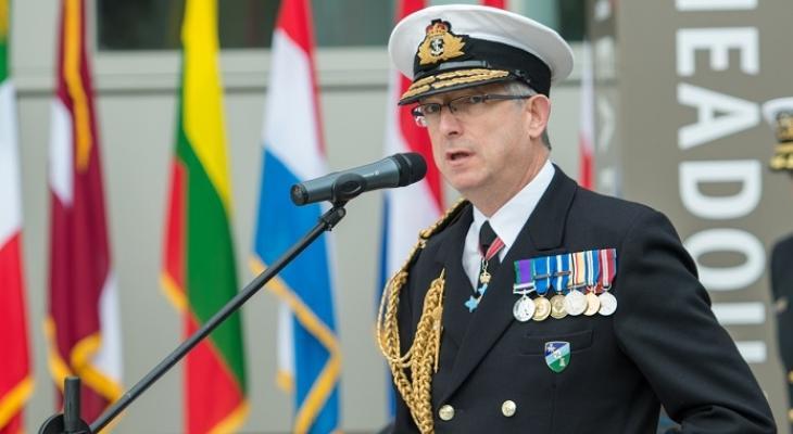 Вице-адмирал ВМФ Клайв Джонстон