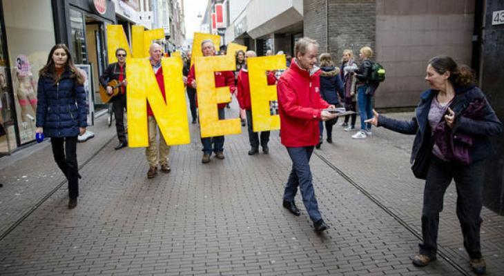 Кампания в Голландии по выходу из ЕС