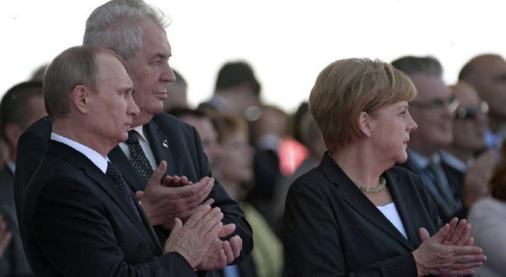 Путин Земан