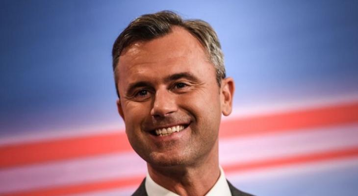 Кандидат в президенты Австрии Норберт Хофер