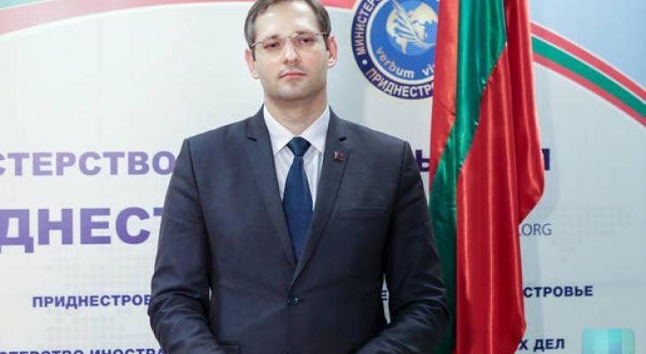 Исполняющий обязанности министра Приднестровья В. Игнатьев