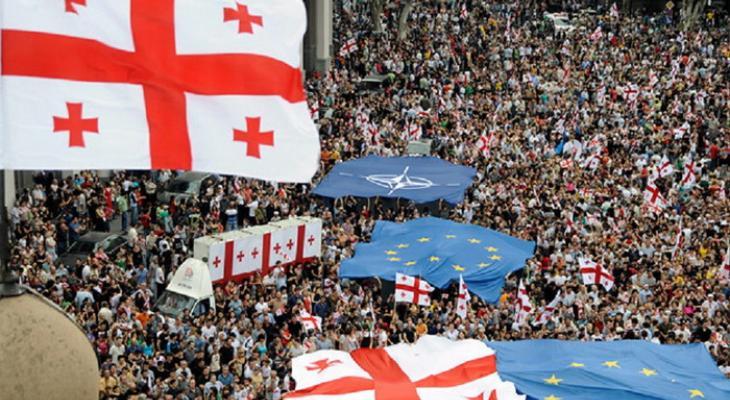 Грузия стремится стать членом ЕС и НАТО