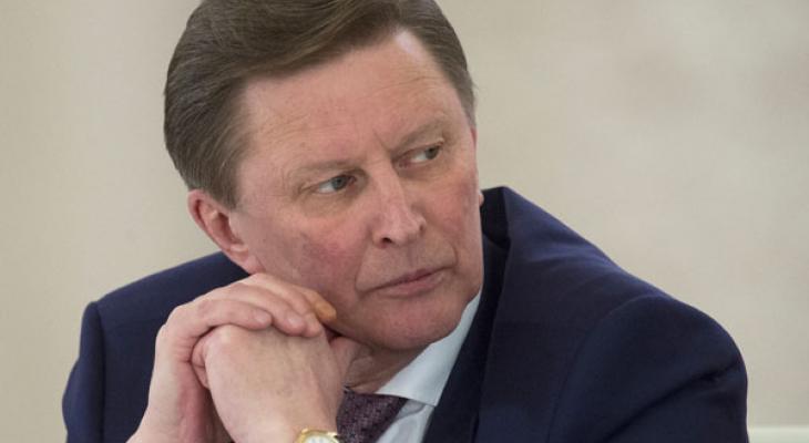 Глава администрации Кремля Сергей Иванов