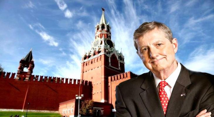 Сенатор США Джон Кеннеди едет в Россию