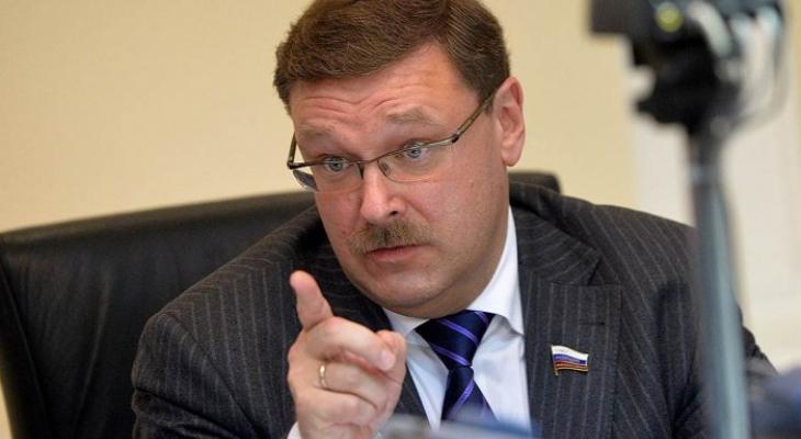 Глава комитета Совета Федерации по международным делам Константин Косачёв