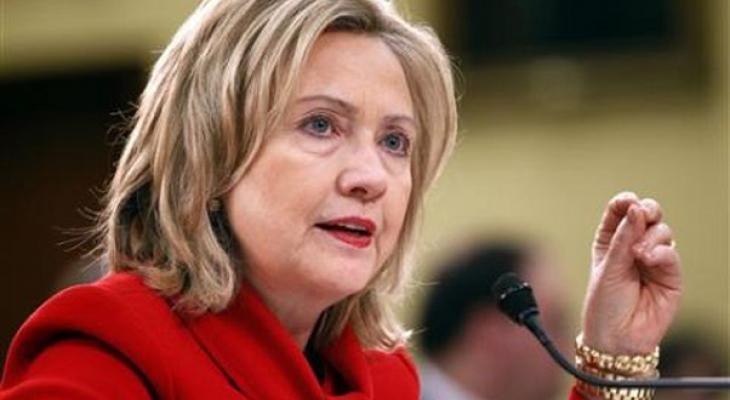 Кандидадт в президенты США Хиллари Клинтон