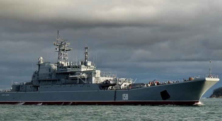 Корабль в проливе Босфор