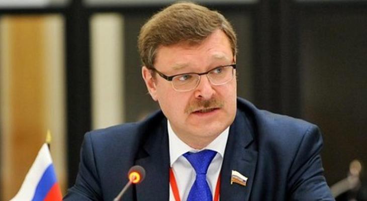 Председатель комитета Совета Федерации по международным делам Константин Косачёв