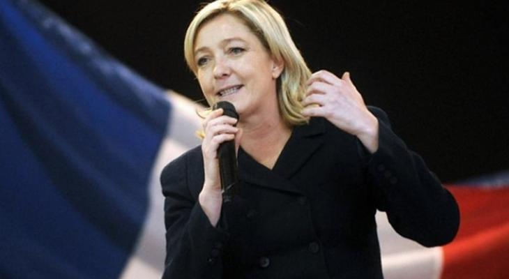 Лидер национального фронта Франции Марин Ле Пен