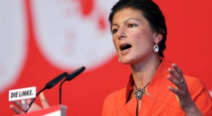 Депутат Бундестага, член Левой партии Германии Сара Вагенкнехт