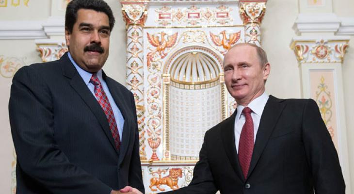 Президент Венесуэлы Николас Мадуро и Президент РФ Владимир Путин