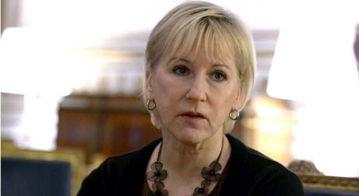 Глава МИД Швеции Маргот Воллстрём