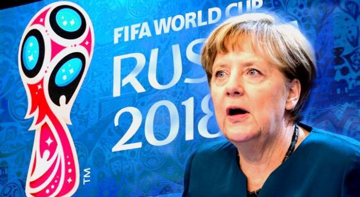 Меркель может посетить ЧМ по футболу в России