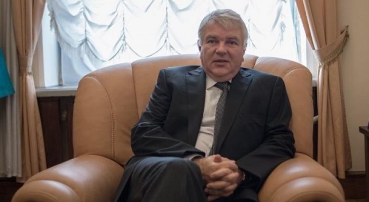 Заместитель Министра иностранных дел России А.Ю. Мешков