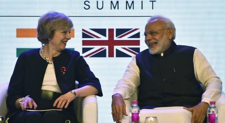 Премьер-министр Великобритании Тереза Мэй и ее индийский коллега Нарендра Моди провели широкомасштабные переговоры, направленные на углубление связей между двумя странами и активизацию торговых инвестиций.